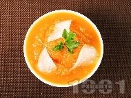 Рецепта Гарнитура от тиква и пармезан